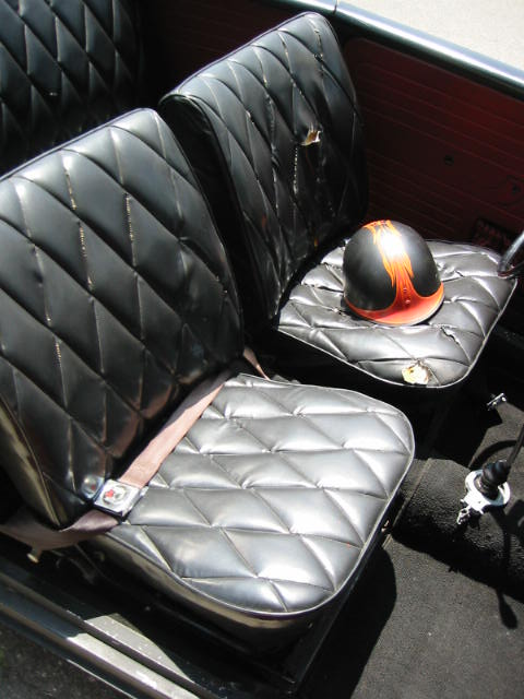 Tuck And Roll Seats In The Classic Style