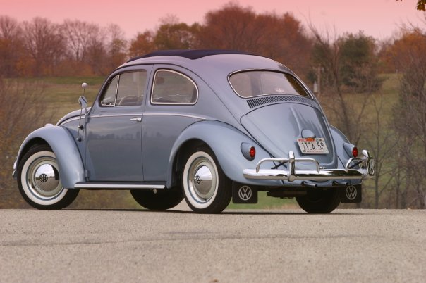 1958 Vw Beetle Ragtop For Sale Oldbug Com