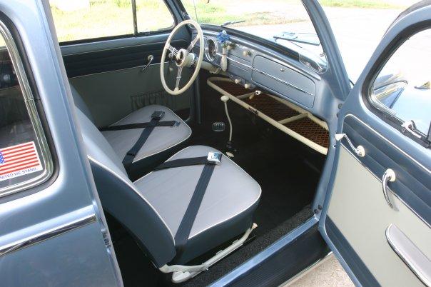 1958 VW Beetle Ragtop For Sale @ Oldbug.com