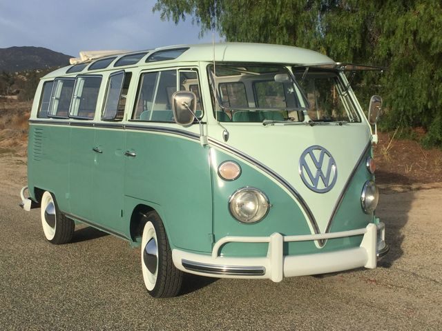 1967 volkswagen bus vanagon 21 window deluxe ebay