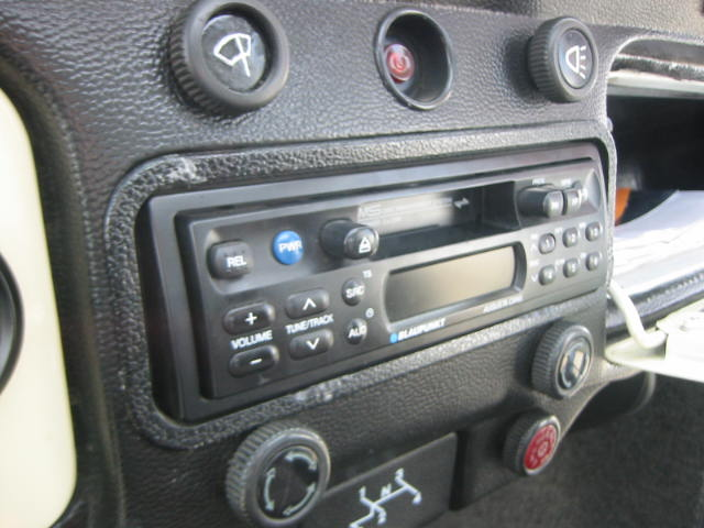 Deatil Pic Of The Blaupunkt Am Fm Casette Stereo Which