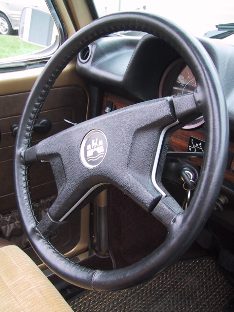 the sport steering wheel was another special equipment. Black Bedroom Furniture Sets. Home Design Ideas