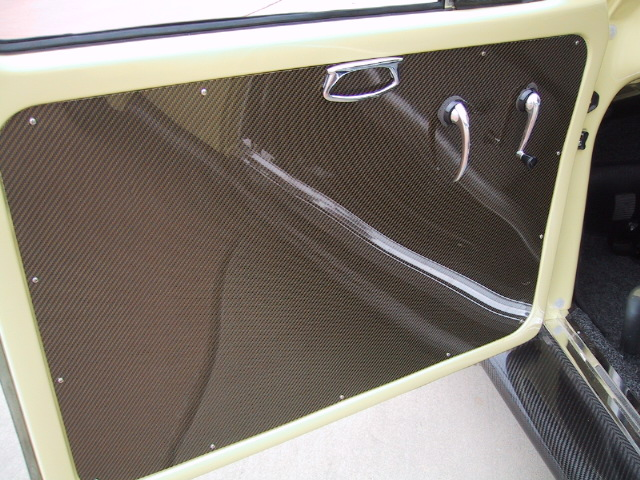 Another Shot Of The Carbon Fiber Interior Panels