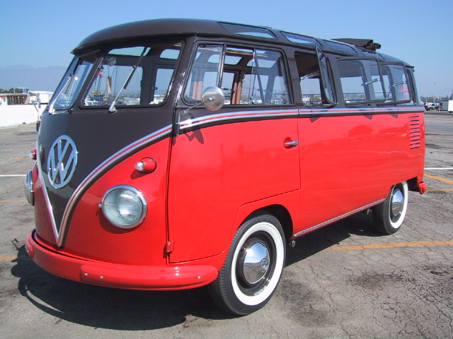 1956 Vw Deluxe Microbus 23 Window For Sale Old Listingr