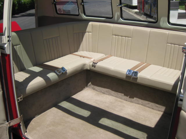 So now that you have seen the outside and the drivetrain for Vw kombi interior designs