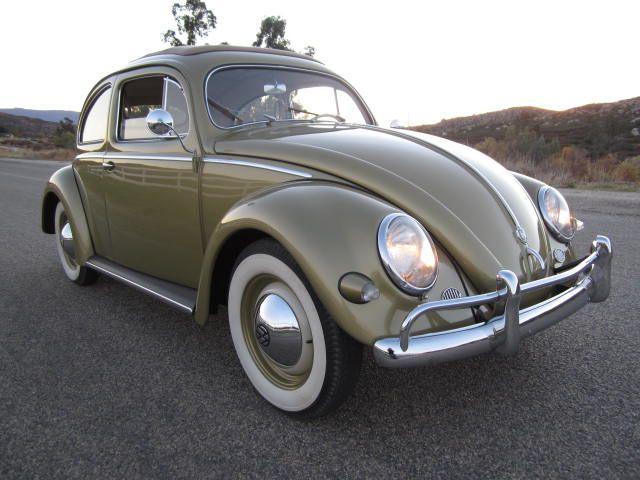 1957 vw oval window sunroof beetle for sale for 1957 oval window vw bug