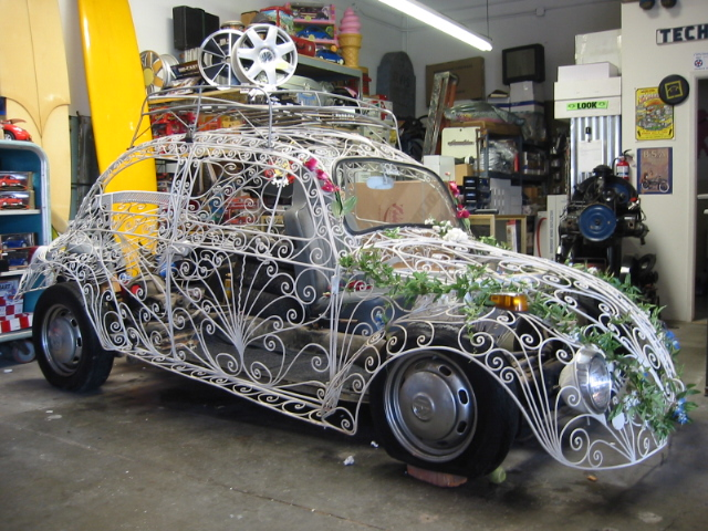 Quot The Wedding Car Quot A 1968 Beetle Body Made Of Wroughtiron