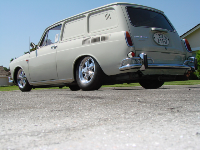 1969 VW Type 3 Panel Delivery For Sale This is a very rare