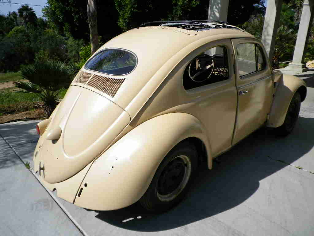 1957 Euro Oval Ragtop Beetle For Sale @ Oldbug.com