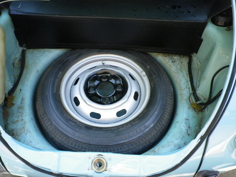 1974 vw super beetle for sale oldbug that looks like an original german spare tire and wheel check out the wheel weightat is factory stuff publicscrutiny Image collections