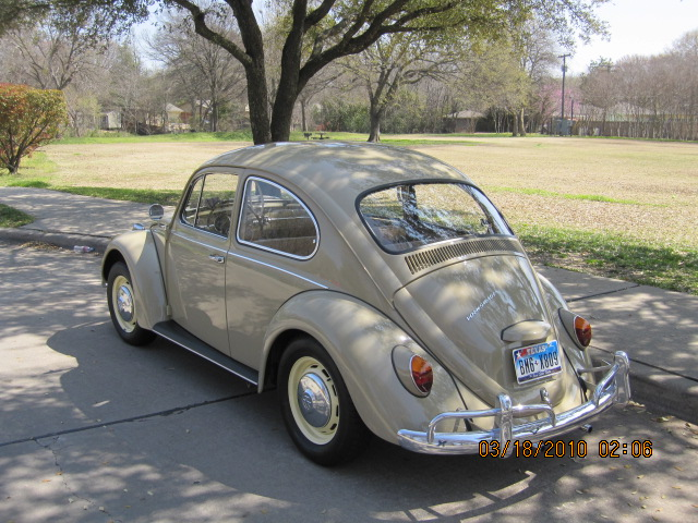 1967 VW Beetle For Sale In Texas