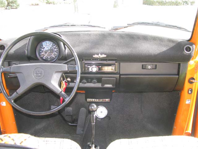 1974 vw superbeetle for sale oldbug dash is very nicerpet dash cover looks good and hides the cracks that are undoubtably underneath freerunsca Images
