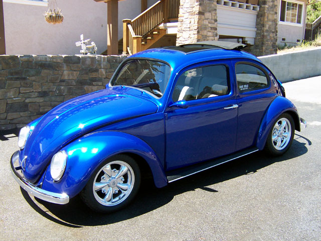 A Very Clean Custom 1960 Beetle With A Ton Of Custom Touches