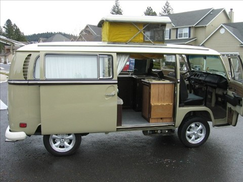 1970 Vw Pop Top Camper For Sale
