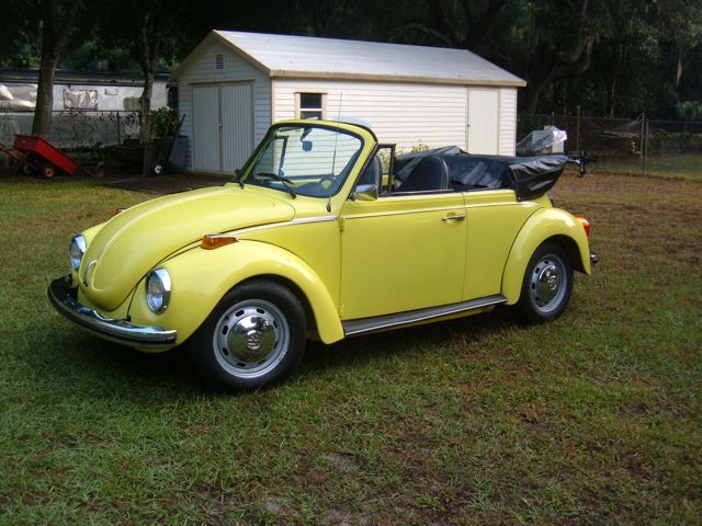 1973 VW Beetle Convertible For Sale @ Oldbug.com