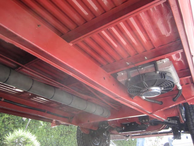 There Is An Auxillary Oil Cooler And Fan Tucked Up Under The Floor On Driver S Side Bus Was Originally Embled With A Performance Engine In It