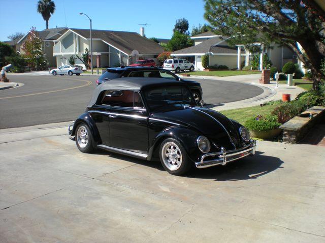 1960 VW Beetle Convertible For Sale @ Oldbug com