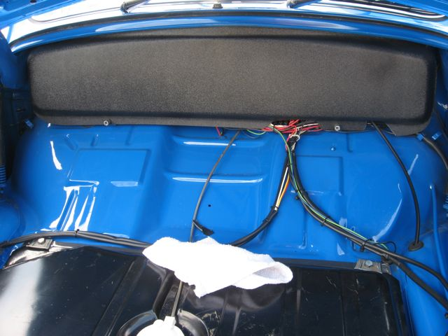 vw beetle sedan street and strip show stopper for new wiring harness super clean install