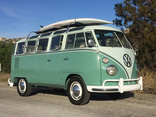 1963 vw 23 window deluxe microbus for sale