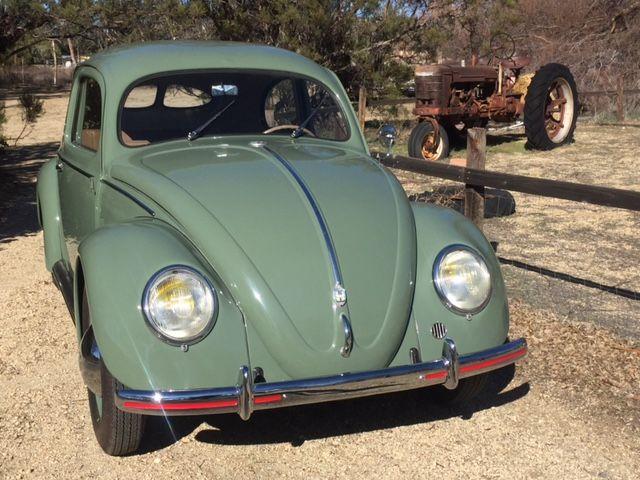 1952 volkswagen beetle classic deluxe ebay. Black Bedroom Furniture Sets. Home Design Ideas