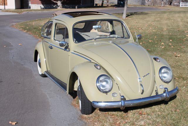 vw ragtop beetle  sale  oldbugcom