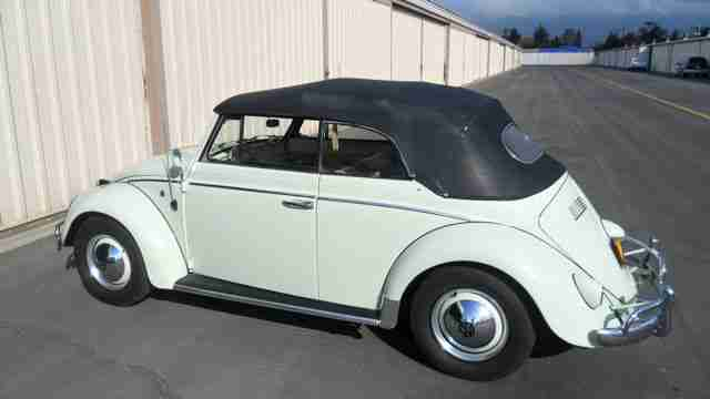 1960 VW Beetle Convertible For Sale @ Oldbug.com