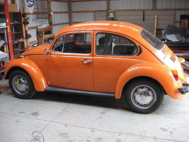 1974 vw beetle all original for sale. Black Bedroom Furniture Sets. Home Design Ideas