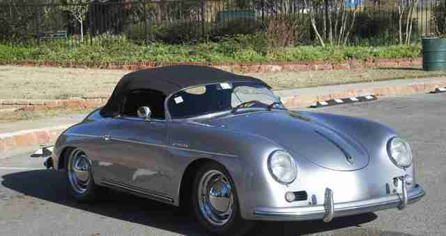 Porsche Speedster Replica By Beck With Type 4 Power For