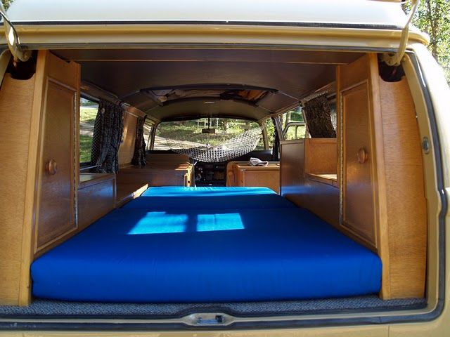 Vw Bus Camper Interior 1973 Weekender For Thesamba Com