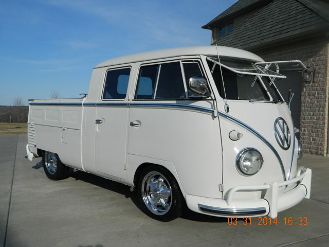 1961 VW Double Cab Transporter For Sale @ Oldbug com