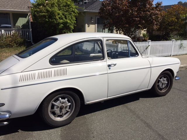1967 VW Type 3 Fastback with factory Sunroof For Sale