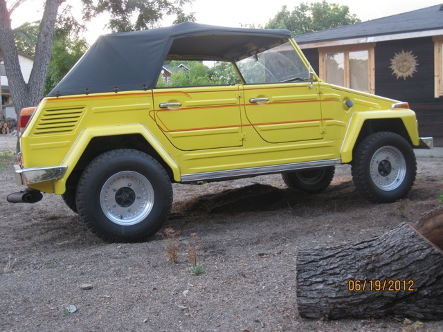 Off road vw thing 1973 vw thing for sale oldbug com