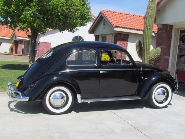 1956 VW Oval Window Beetle Sedan For Sale @ Oldbug.com