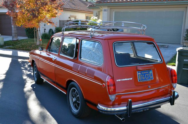 Cool Wood Slat Roof Rack And Custom Wheels