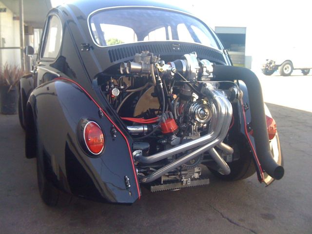 1966 VW Beetle Wild Turbo Street Machine For Sale @ Oldbug com
