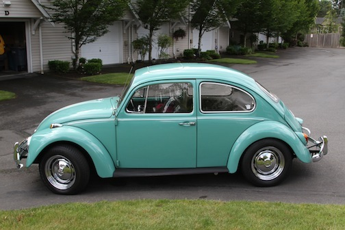 1967 vw beetle with factory sunroof for sale. Black Bedroom Furniture Sets. Home Design Ideas