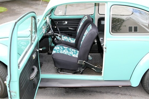 1967 Vw Beetle With Factory Sunroof For Sale Oldbug