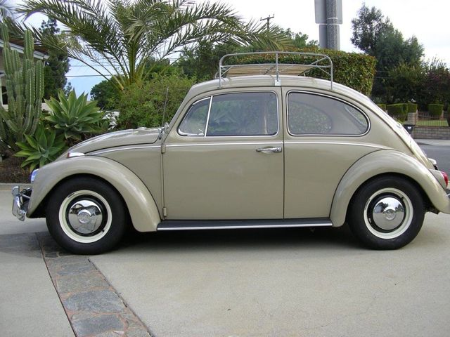 1967 savannah beige vw beetle sedan for sale. Black Bedroom Furniture Sets. Home Design Ideas