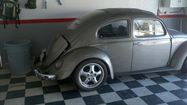 1955 VW Beetle 525hp Monster For Sale @ Oldbug com