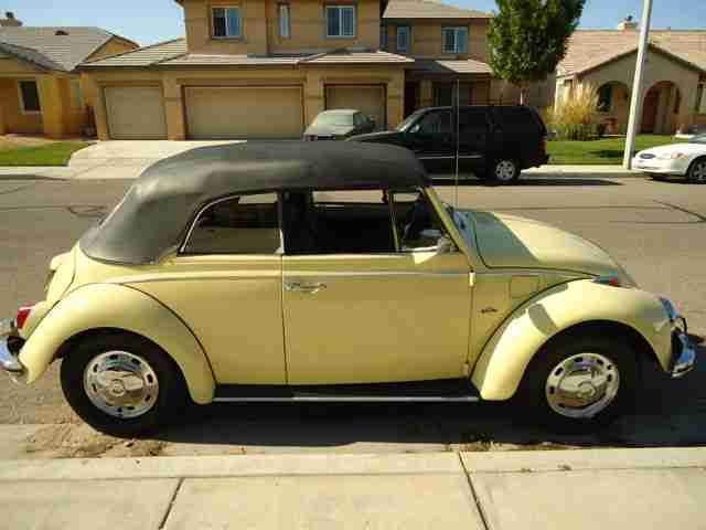 1969 VW Beetle Convertible For Sale @ Oldbug.com