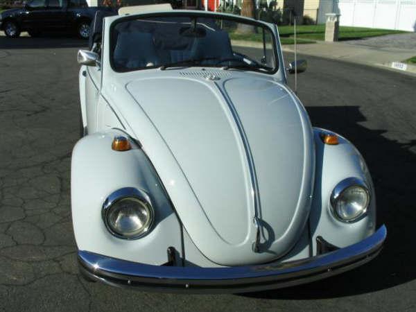 1969 VW Turbo Beetle Convertible For Sale at Oldbug.com