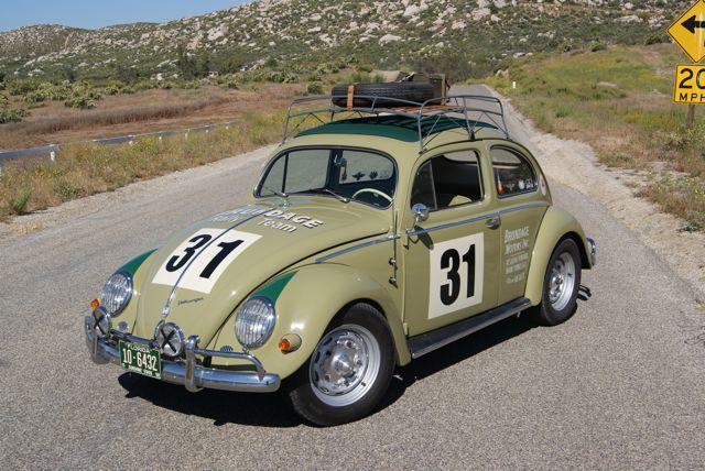 1955 Vw Beetle Rally Car For Sale Oldbug Com