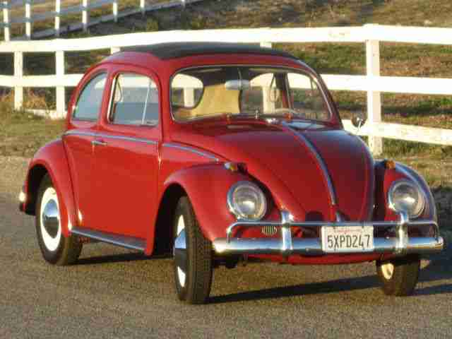 1963 VW Beetle Ragtop For Sale @ Oldbug.com