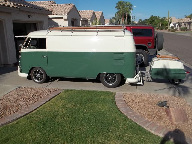 1965 VW Split Screen Panel Van For Sale @ Oldbug com