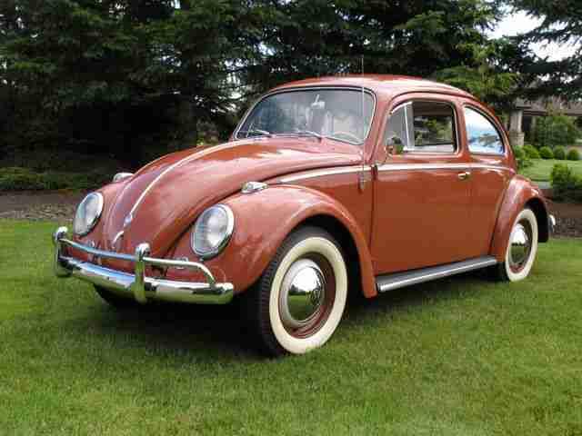 1958 VW Beetle Sedan For Sale @ Oldbug.com