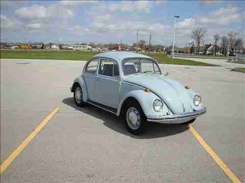 1968 VW bug for sale @ oldbug.com