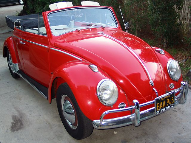 1963 VW Beetle Convertible For Sale @ Oldbug.com